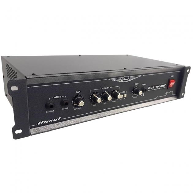 Amplificador Cabeçote Oneal Contra Baixo OCB 1000HX
