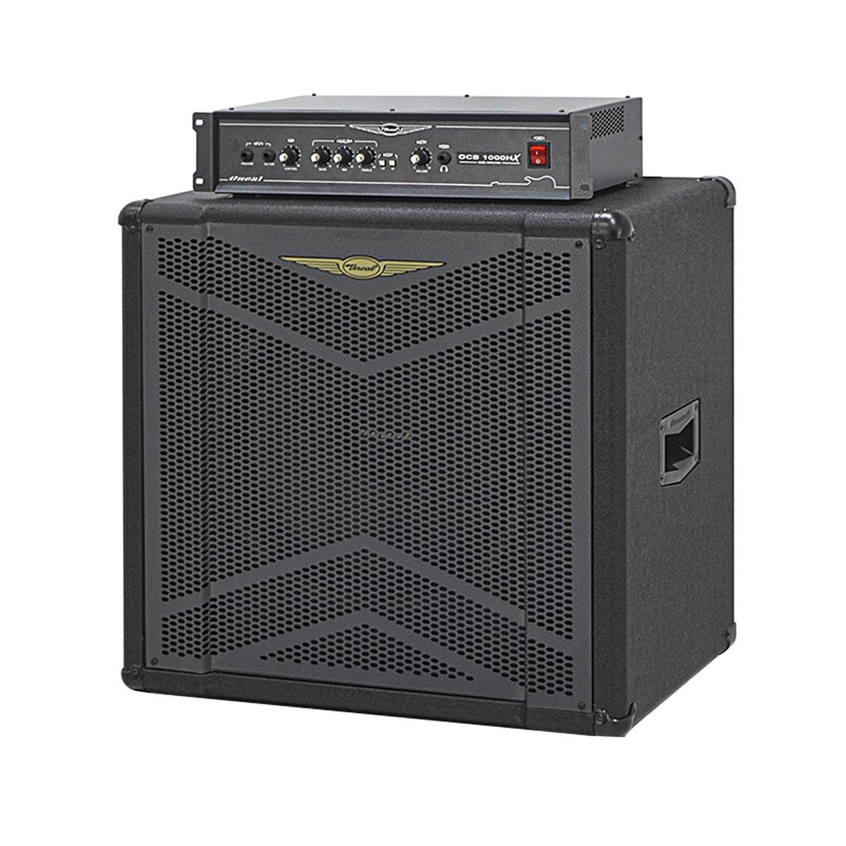 Amplificador Contra Baixo Oneal OCB 1000 HX OBS 115 X