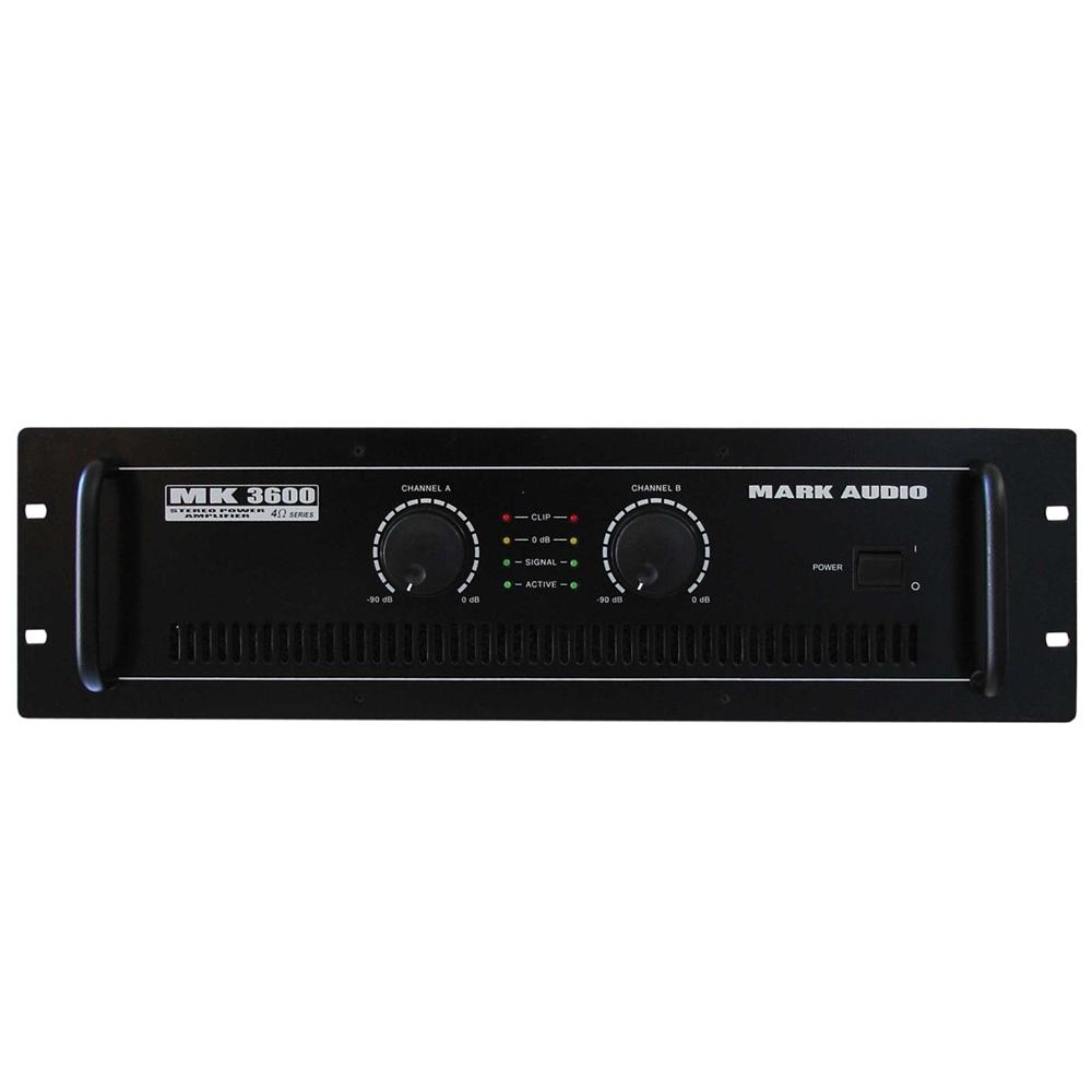 Amplificador Potência MK 3600 Mark Audio
