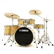Bateria Acústica Yamaha Stage Custom SBP2F5 Natural