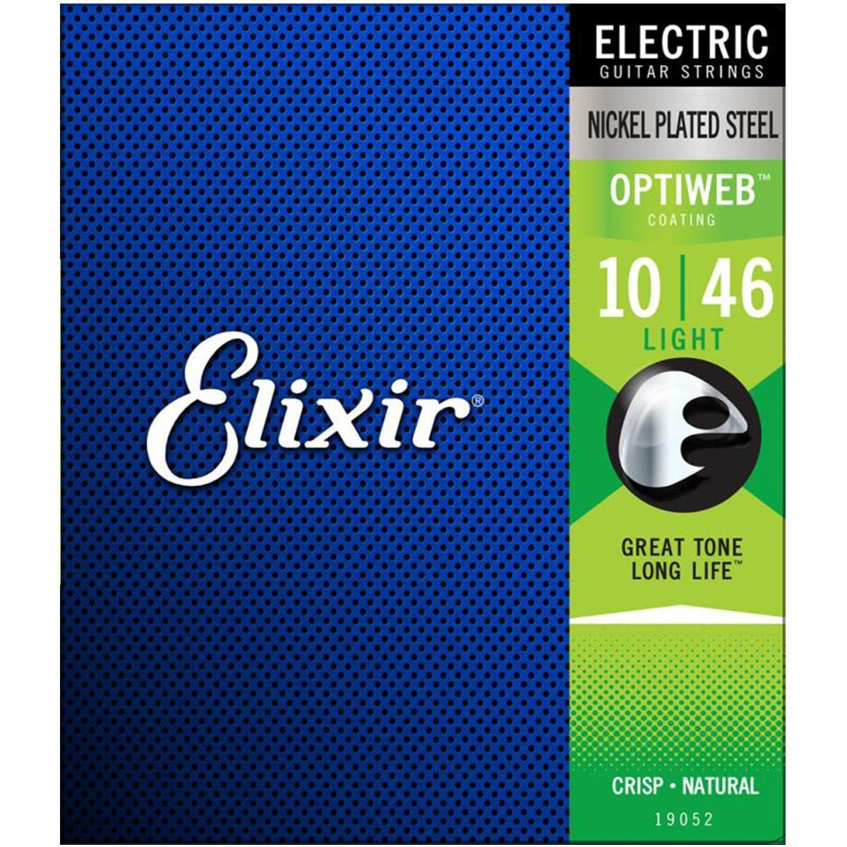 Encordoamento Guitarra Elixir 0.10 OPTIWEB