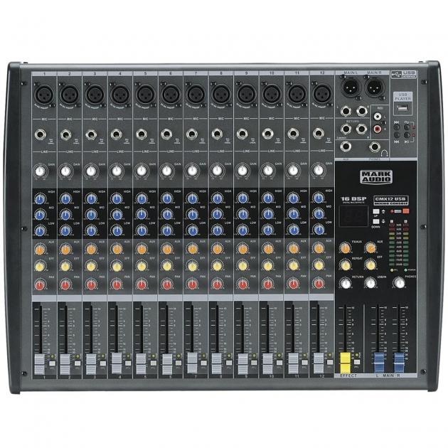 Mesa 12 Canais CMX 12 USB Mark Audio