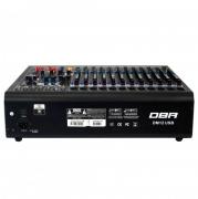 Mesa de Som 12 Canais DBR DM 12 USB