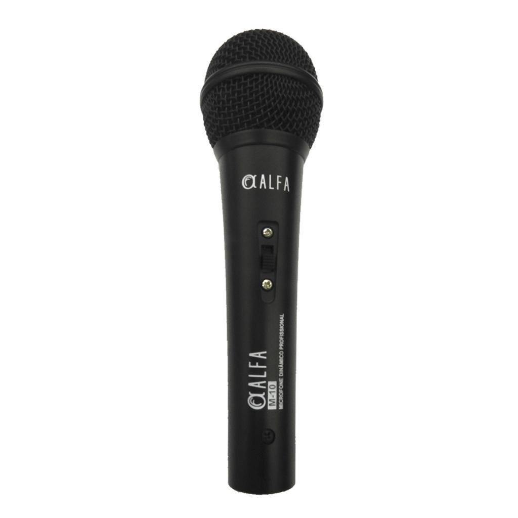 Microfone Dinâmico M 10 Alfa