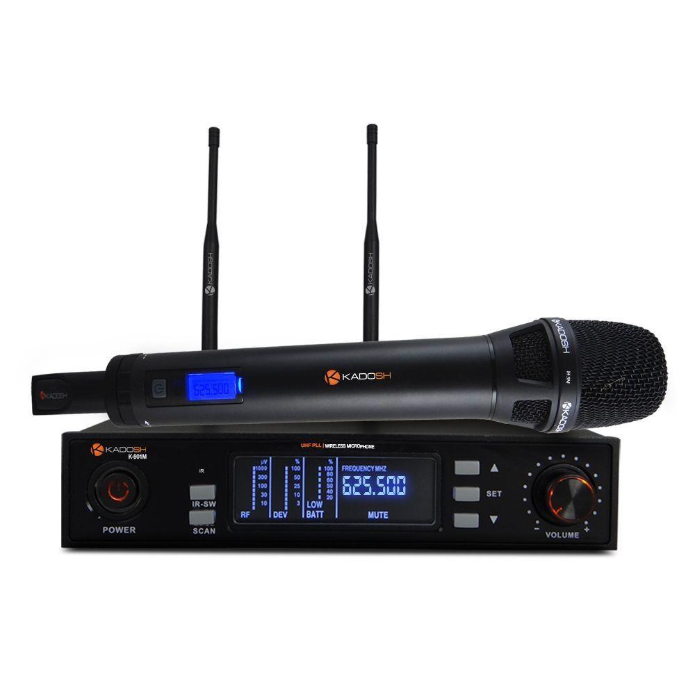 Microfone Kadosh Sem Fio K 901 M
