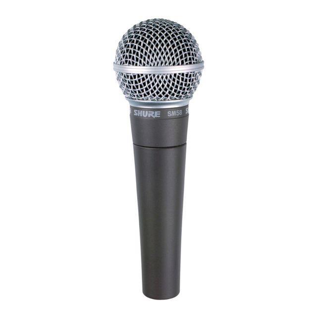 Microfone Shure SM 58 LC
