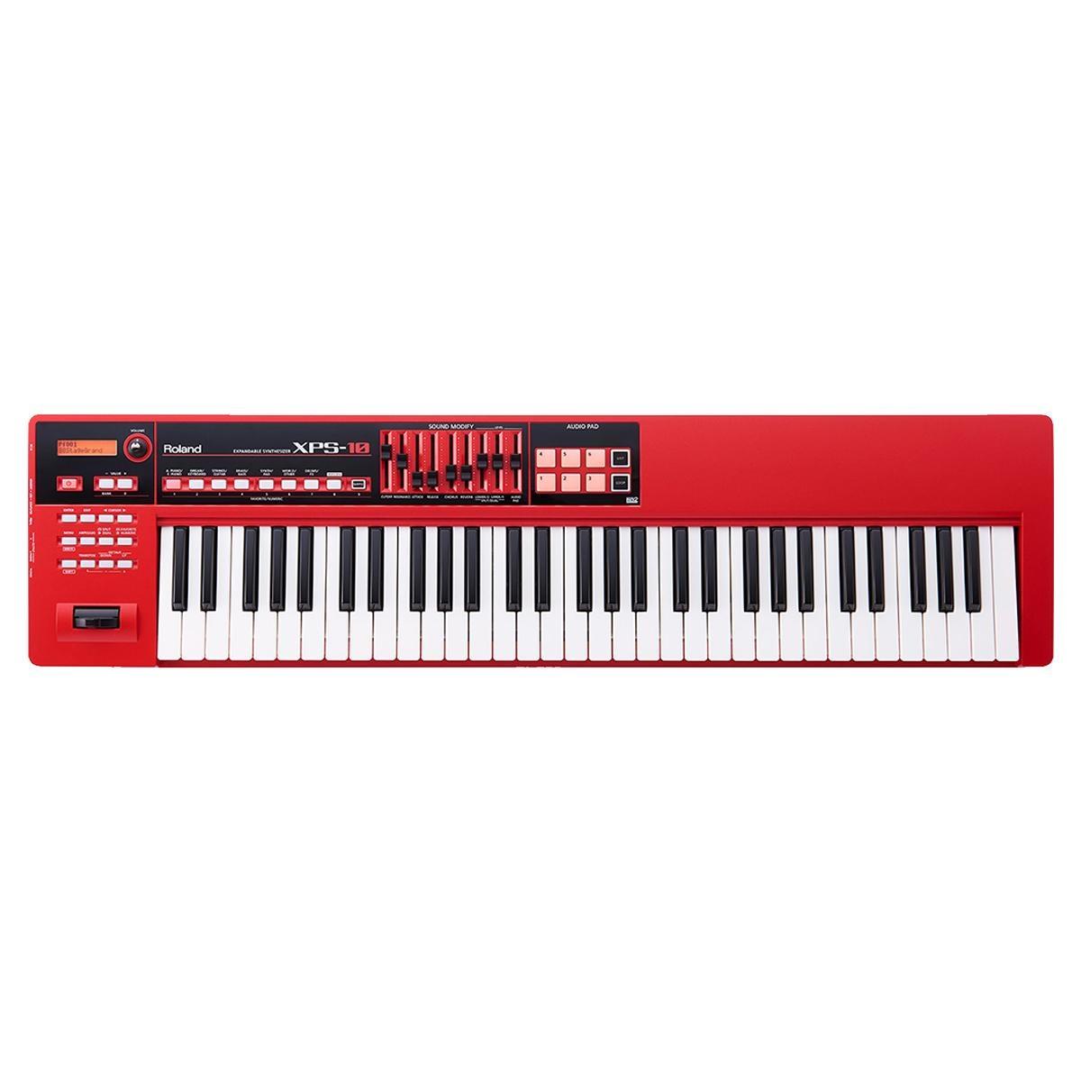Teclado Sintetizador Roland XPS 10 Vermelho